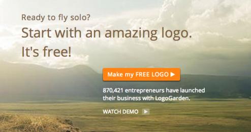 logo garden design screenshot