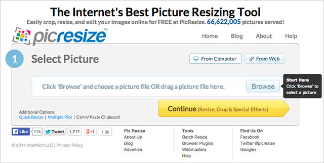 picresize screenshot