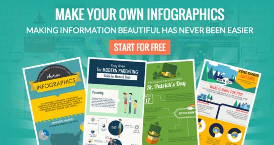 piktochart infographic maker screenshot