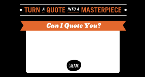 recite quote maker screenshot