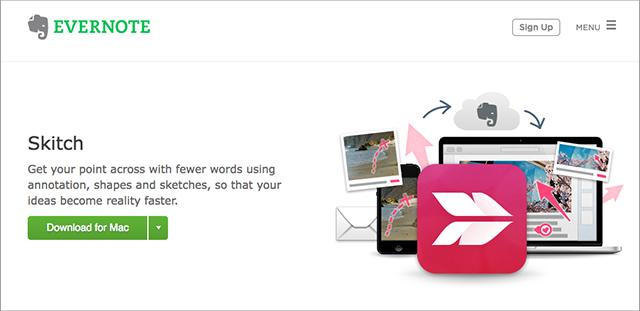 evernote skitch screenshot tool