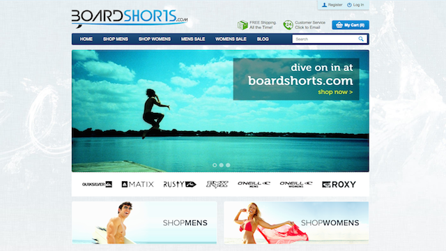 Boardshorts WordPress