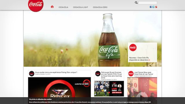 CocaCola WordPress