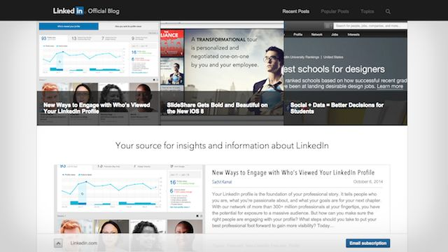 linkedin best wordpress screenshot