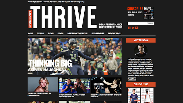 Thrive Magazine WordPress
