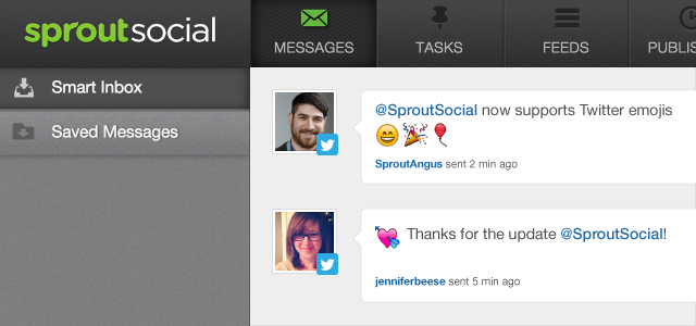 View Twitter Emojis in Sprout