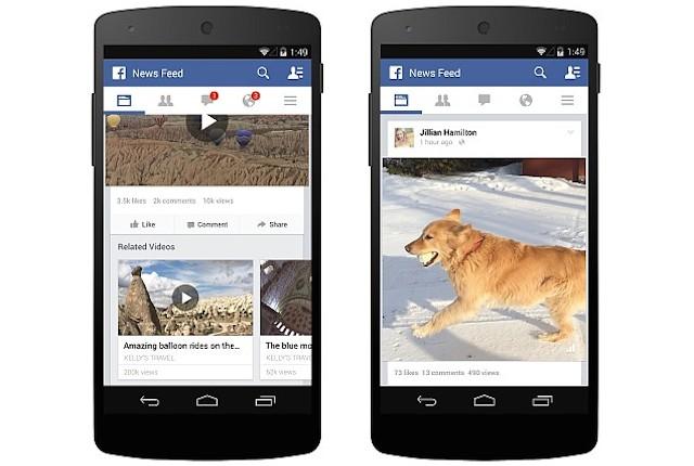 videos on facebook screenshot