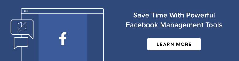 Facebook Management Learn More Banner