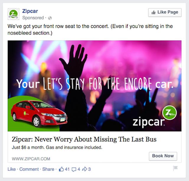zipcar-facebook-ad
