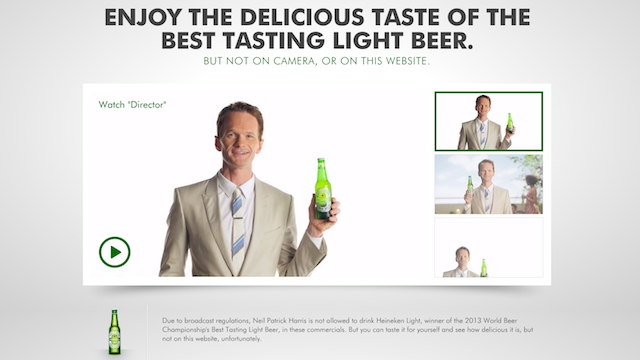 Heineken Website