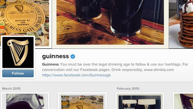 Instagram Bio Guinness