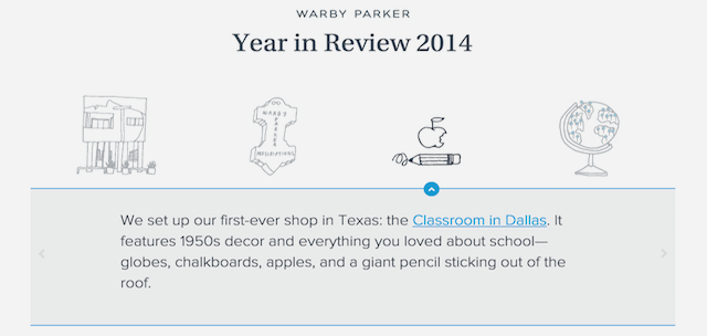 warby parker 2014 year in review