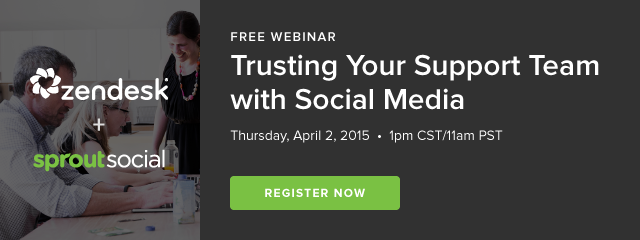 Trusting Your Support Team with Social Media.