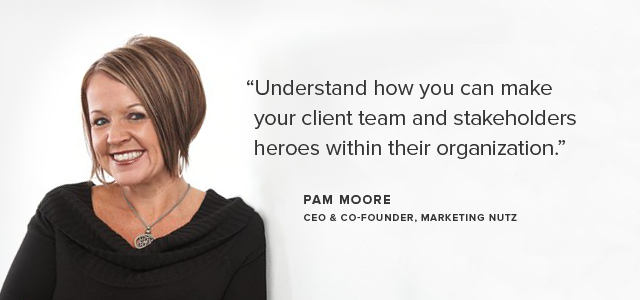 pam moore from marketing nutz