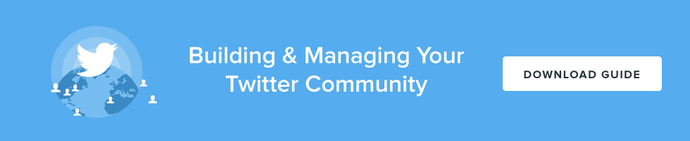 Building & Managing Your Twitter Community