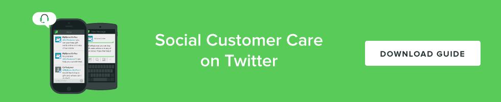 Social Customer Care on Twitter