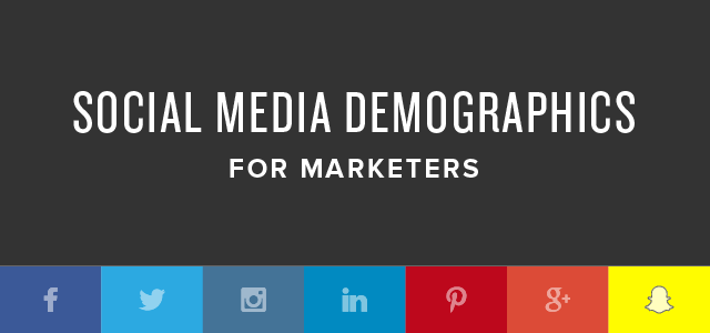 Social Media Demographics to Inform a Better Segmentation Strategy