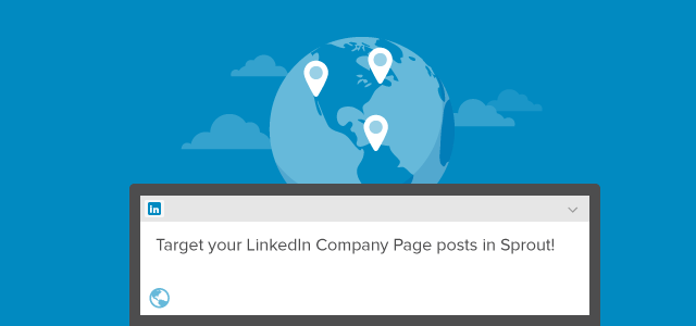 Target LinkedIn Company Page Status Updates in the New Compose Window