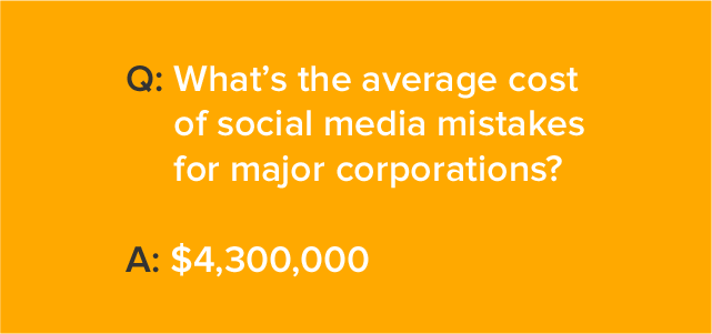social media marketing problems