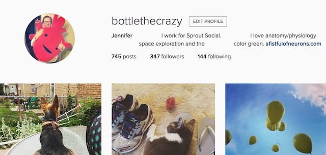Instagram Bio Centered Web