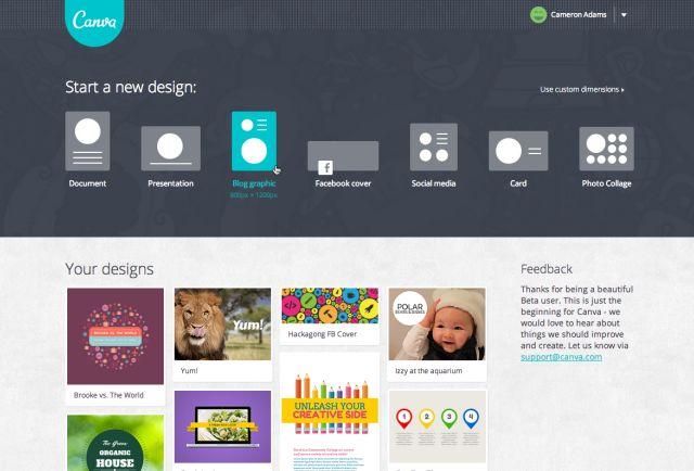 User.Homepage.Screenshot