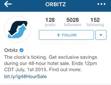 orbitz instagram