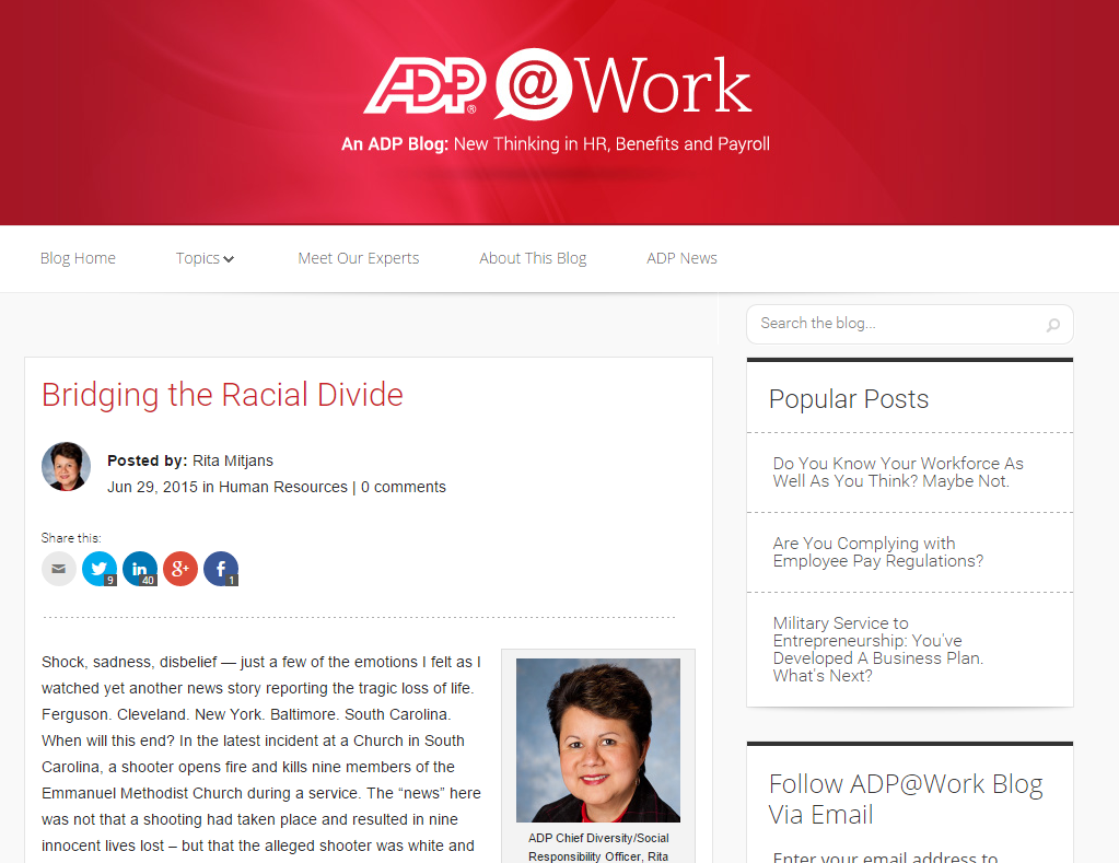ADP Blog