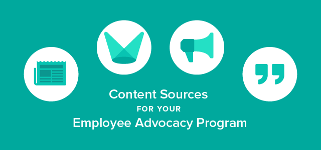 content sources for employee advocacy