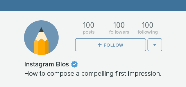 How to add symbols to instagram bio
