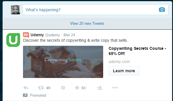 Promoted Tweets Lead Generation