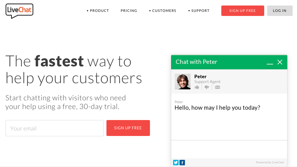 customer service tool example