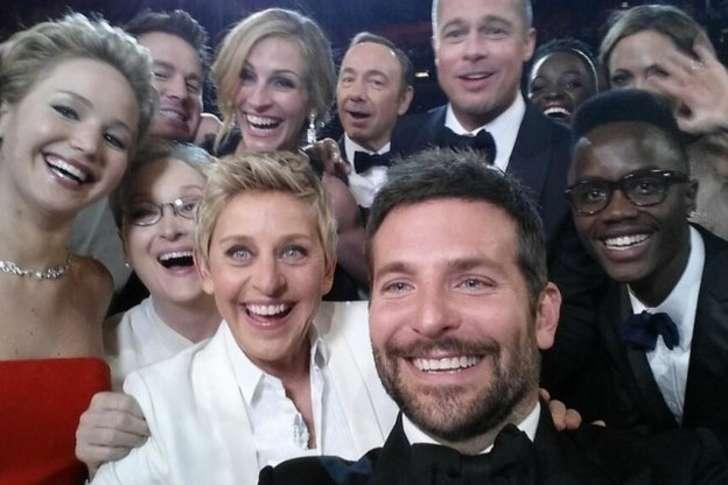 ellen viral selfie