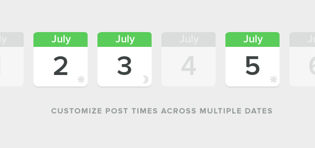 Post With Precision With Sprout's Message Scheduler Enhancements