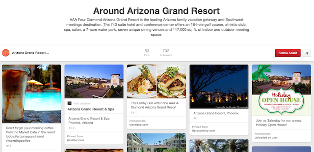 Arizona Grand Pinterest