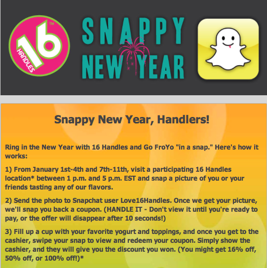 16 Handles Snapchat Marketing