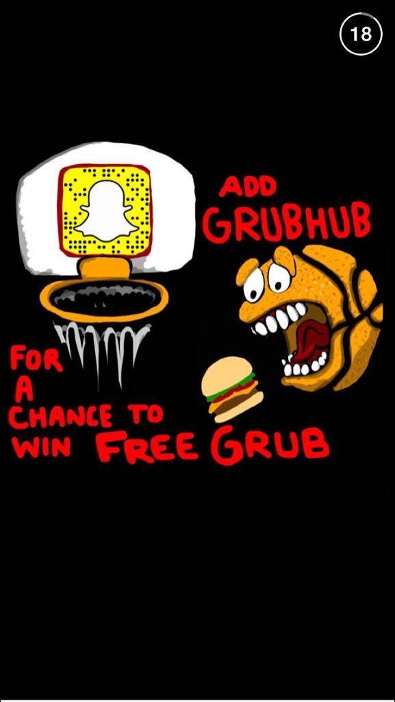 Grubhub Snapmadness