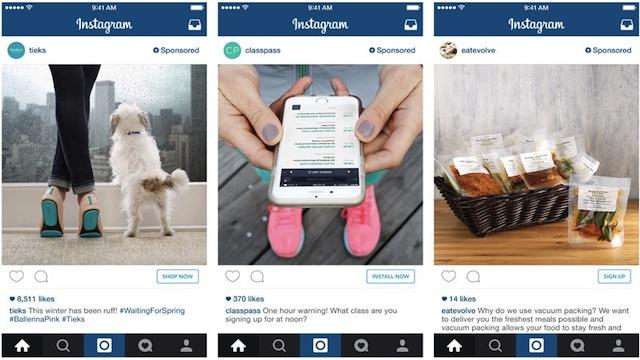 Instagram-orientados a la acción botones