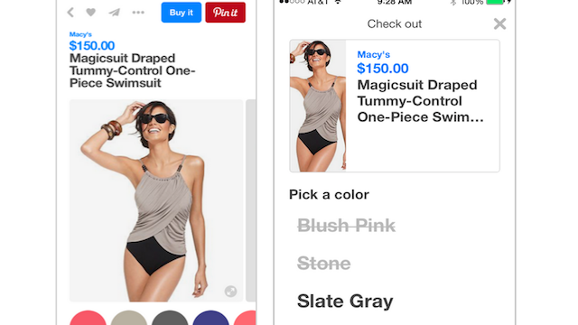 Pinterest Buyable Pins Macy's