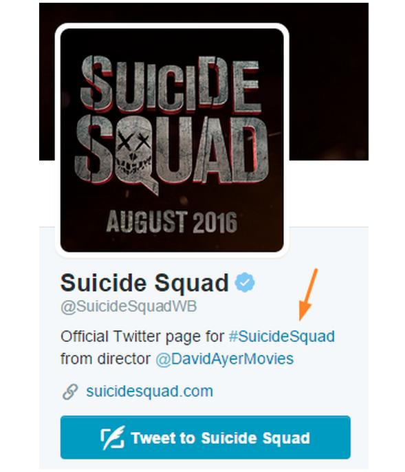 Suicide Squad Twitter Bio