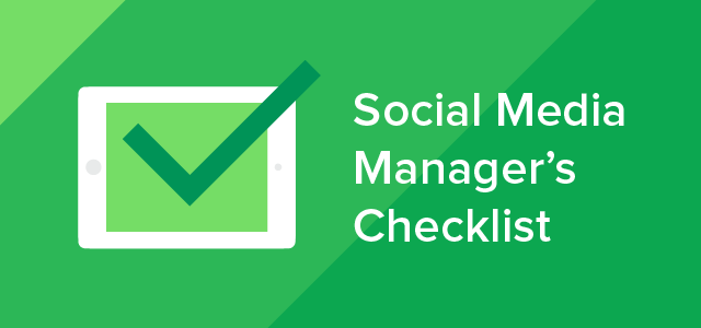 Social Media Managers Checklist-01