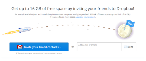 dropbox referral marketing