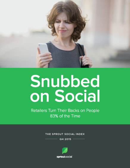 The Sprout Social Index: Q4 2015