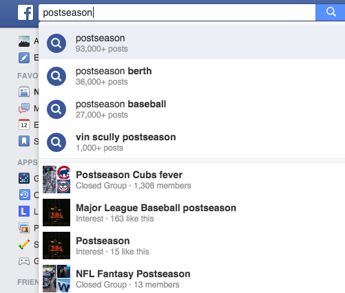 postseason basic search