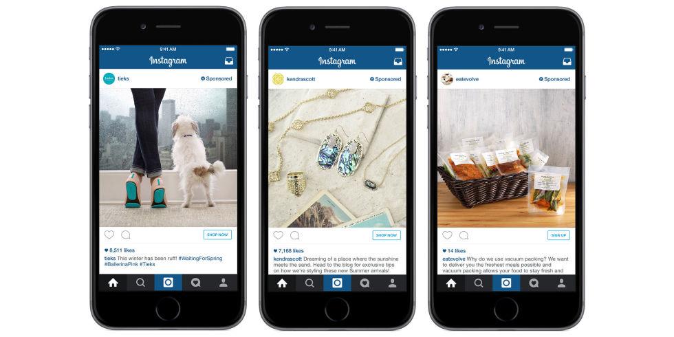 Instagram Shop Now Button