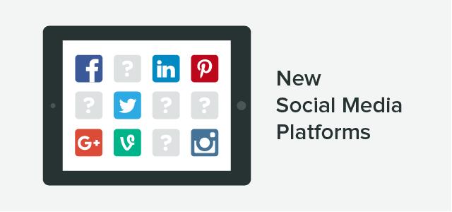new social platforms header