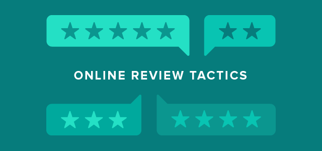 Online review tactics
