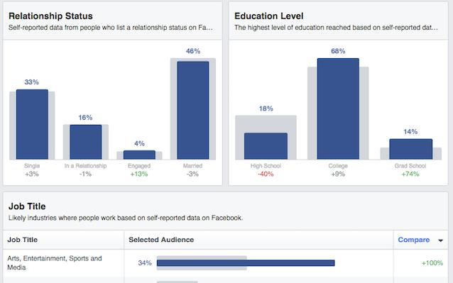 Audience Insights demographics 2