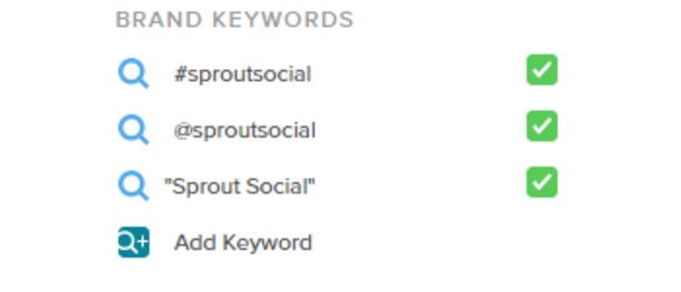 ejemplos de palabras clave relacionadas con la marca