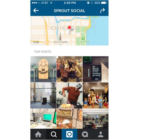instagram geo location search