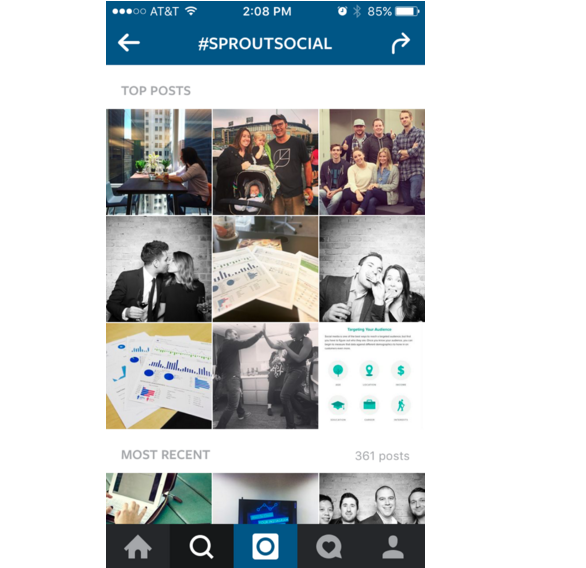 instagram hashtags search